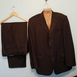 Andrew Fezza Suit Size 46L & (Pants 40 X 31.5 )